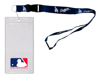 Los Angeles Dodgers Team Lanyard With Ticket Holder