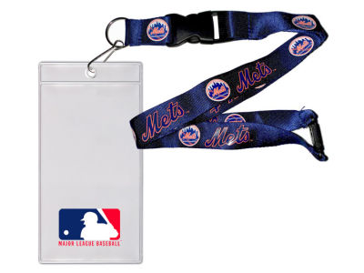 New York Mets Team Lanyard With Ticket Holder