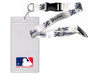 New York Yankees Team Lanyard With Ticket Holder