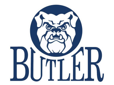 Butler Bulldogs Static Cling Decal