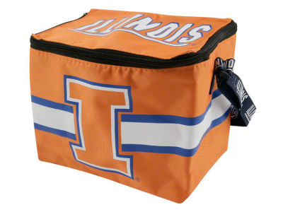 Illinois Fighting Illini 6-pack Lunch Cooler