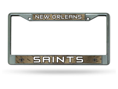 New Orleans Saints Chrome Frame