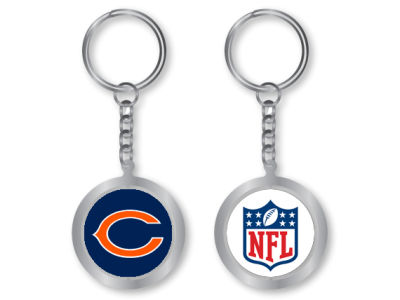 Chicago Bears Spinning Keychain