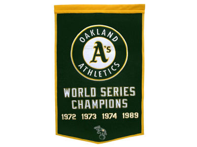 Oakland Athletics Dynasty Banner