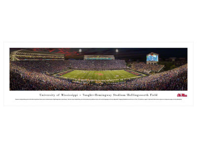 Ole Miss Rebels Panoramic Unframed