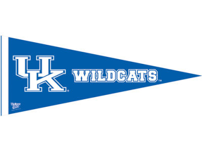 Kentucky Wildcats 12x30in Pennant