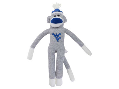 West Virginia Mountaineers Sock Monkey