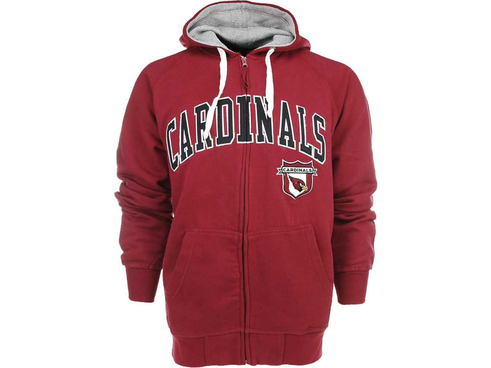 dde0badc3e70 Arizona Cardinals G-III Sports NFL Step One Full Zip Hoodie