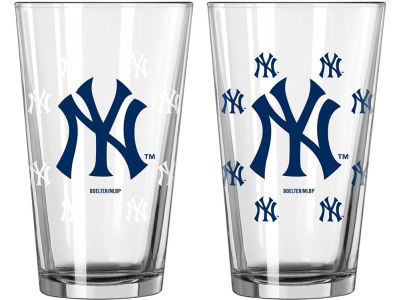 New York Yankees 16oz Color Changing Pint Glass