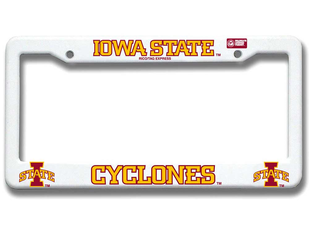 Iowa State Cyclones Plastic License Plate Frame | lids.com