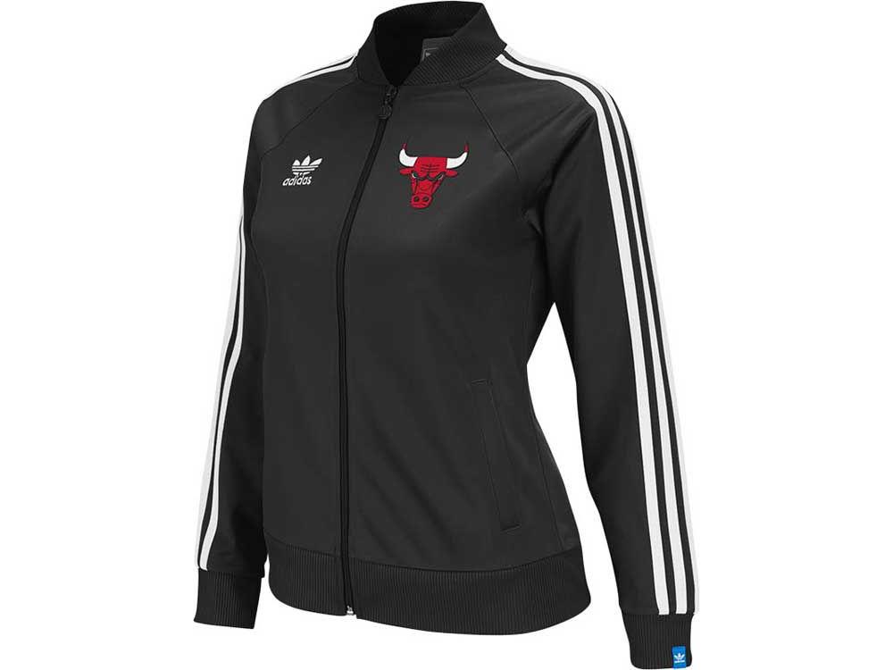 Chicago Bulls adidas NBA Womens Original Track Jacket  f1a1b7599
