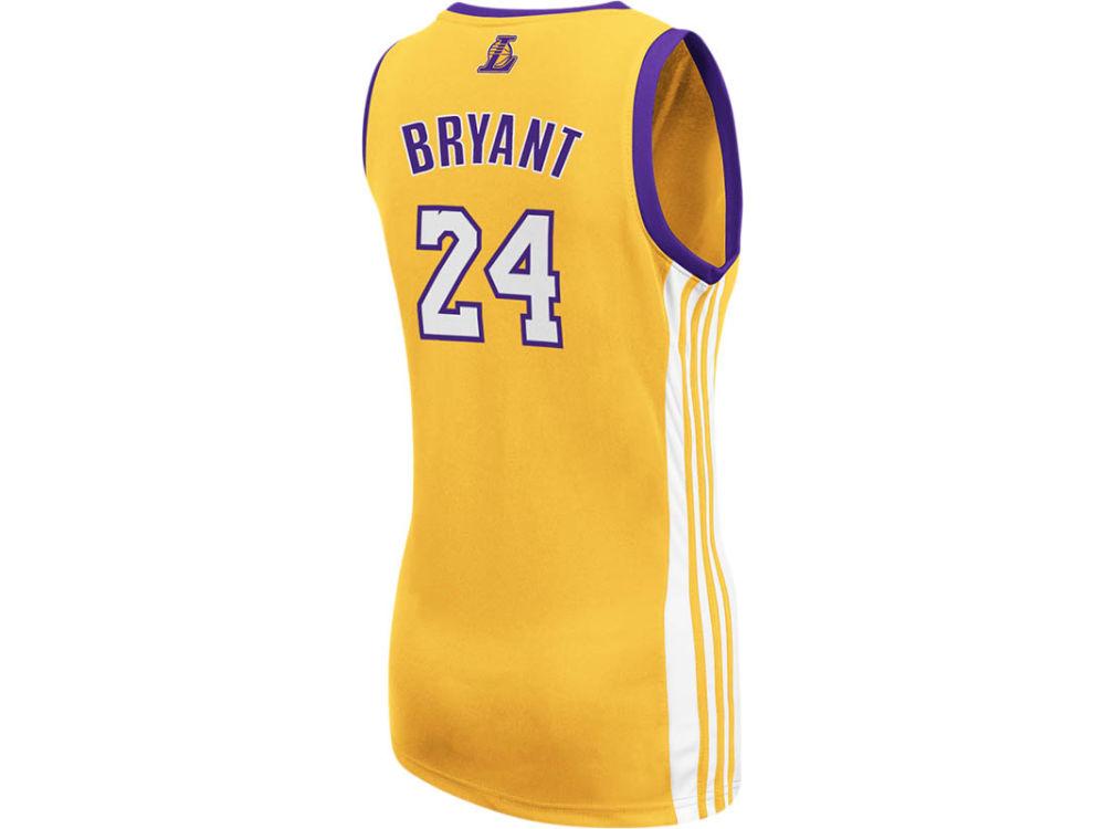 Los Angeles Lakers Kobe Bryant adidas NBA Womens Replica Jersey. Los  Angeles Lakers Kobe Bryant adidas ... 55d0488f7