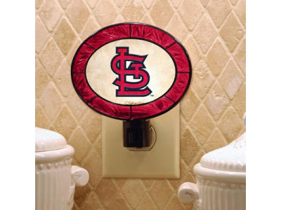 St. Louis Cardinals Art Glass Night Light