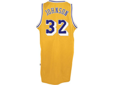 Los Angeles Lakers Magic Johnson adidas NBA Men's Retired Player Swingman Jersey