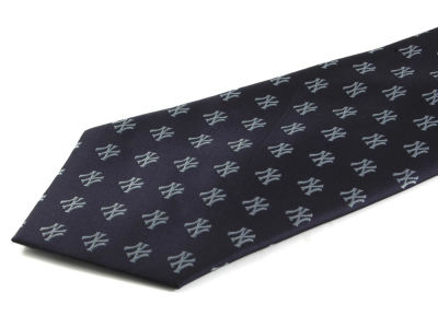 New York Yankees Poly Woven Tie