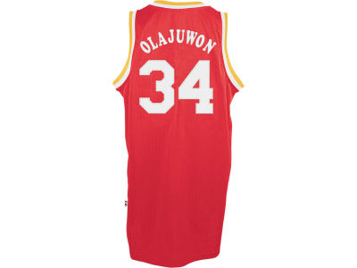 Houston Rockets Hakeem Olajuwon adidas NBA Retired Player Swingman Jersey