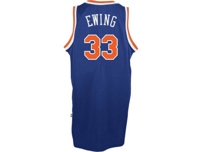 New York Knicks Patrick Ewing adidas NBA Retired Player Swingman Jersey