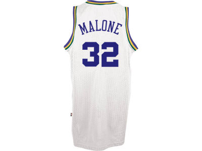 Utah Jazz Karl Malone adidas NBA Retired Player Swingman Jersey