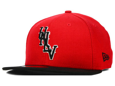 UNLV Runnin Rebels New Era NCAA 2 Tone 59FIFTY Cap