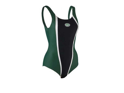 New York Jets Girls 1 Pc Swimsuit