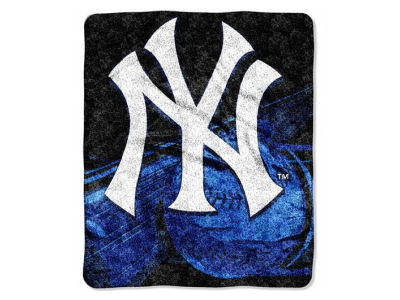 New York Yankees 50x60in Sherpa Throw