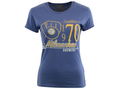 Milwaukee Brewers '47 MLB Women's Midfield T-Shirt
