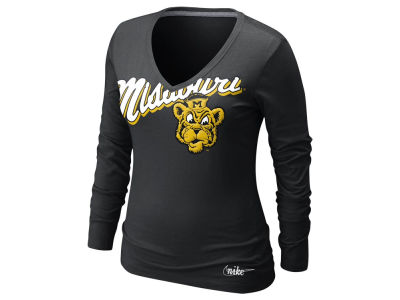 Missouri Tigers Nike NCAA Womens Long Sleeve Vault Top