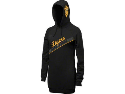 Missouri Tigers Nike NCAA Womens Vault Long Boyfriend Hoodie
