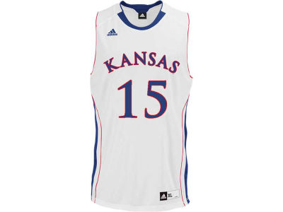 Kansas Jayhawks KU #15 adidas NCAA Point Guard Jersey