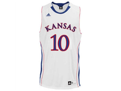 Kansas Jayhawks KU #10 adidas NCAA Point Guard Jersey