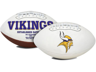 Minnesota Vikings Signature Series Football