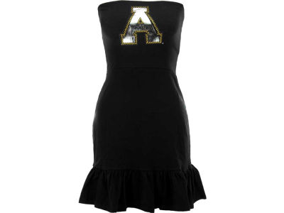 Appalachian State Mountaineers Nike NCAA Womens Strapless Ruffle Dress