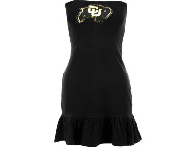 Colorado Buffaloes Nike NCAA Womens Strapless Ruffle Dress