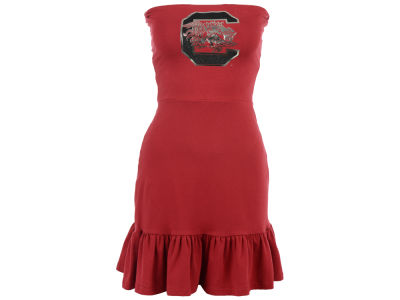 South Carolina Gamecocks Nike NCAA Womens Strapless Ruffle Dress