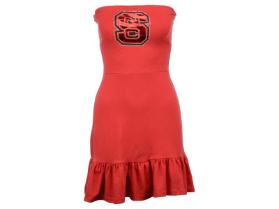 North Carolina State Wolfpack Nike NCAA Womens Strapless Ruffle Dress