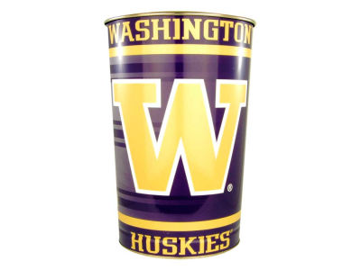 Washington Huskies Trashcan