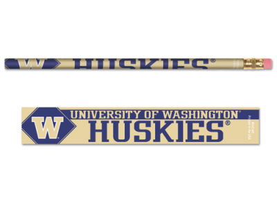 Washington Huskies 6-pack Pencils