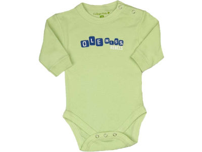 Ole Miss Rebels NCAA Infant Bodysuit Long Sleeve