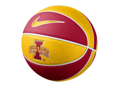 Iowa State Cyclones Nike NCAA Mini Rubber Basketball