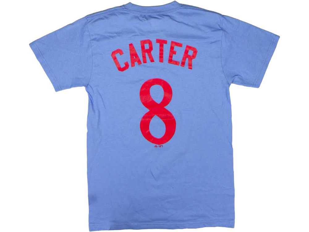 Montreal Expos Gary Carter Majestic MLB Men s Cooperstown Player T-Shirt  a226c2625