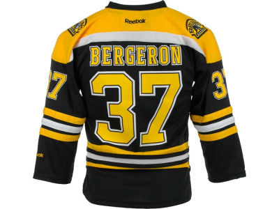 Boston Bruins Patrice Bergeron NHL Youth Replica Player Jersey