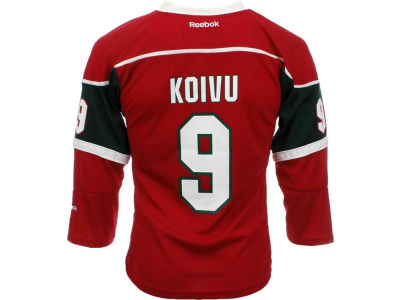 Minnesota Wild Mikko Koivu Reebok NHL Youth Replica Player Jersey