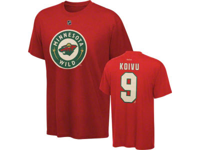 Minnesota Wild Mikko Koivu NHL Youth Player T-Shirt
