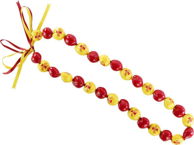 Iowa State Cyclones NCAA Kukui Nut Necklace