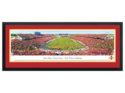 Iowa State Cyclones Panoramic Deluxe Framed
