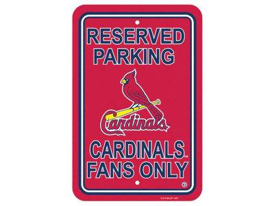 St. Louis Cardinals Parking Sign