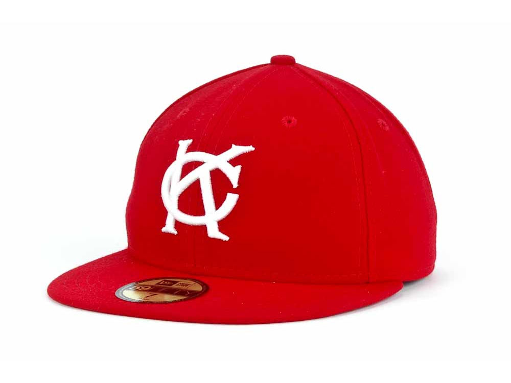 378a8530aed Kansas City Monarchs New Era Negro League Collection 59FIFTY Cap ...