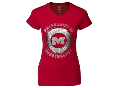 Ole Miss Rebels NCAA Womens Kimberly T-Shirt