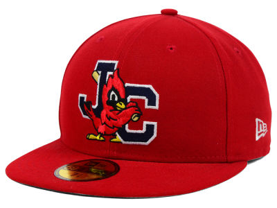 Johnson City Cardinals New Era MiLB AC 59FIFTY Cap