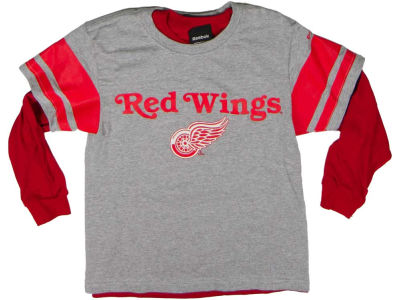 Detroit Red Wings NHL CN Youth 3-in-1 Option T-Shirt